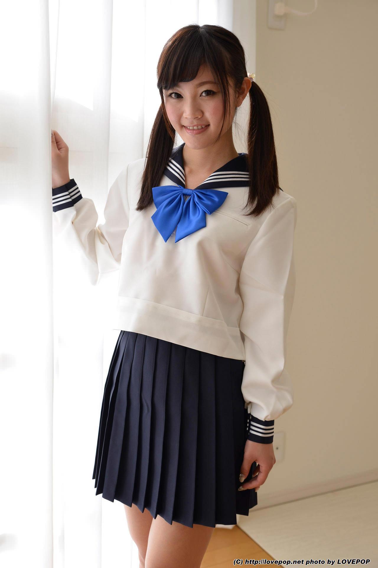 4k lovepop 制服 パンティ